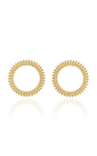CARLA AMORIM | Carla Amorim Circular Earrings | Goxip