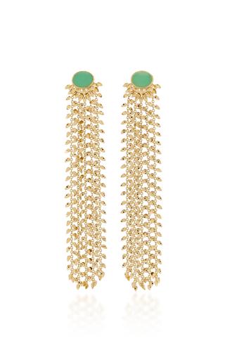 CARLA AMORIM | Carla Amorim 100 Leaves Earrings | Goxip