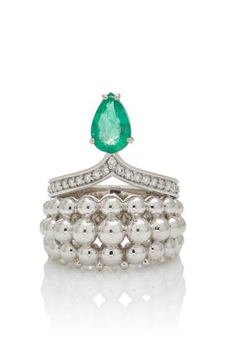 CARLA AMORIM | Carla Amorim Ring Jardim Japones Emeralds | Goxip