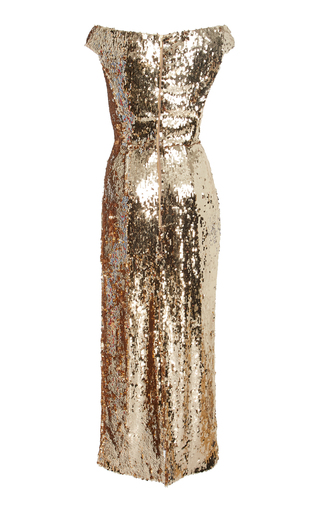 a945fb36000 SaloniExclusive Therese Off-The-Shoulder Sequin Midi Dress
