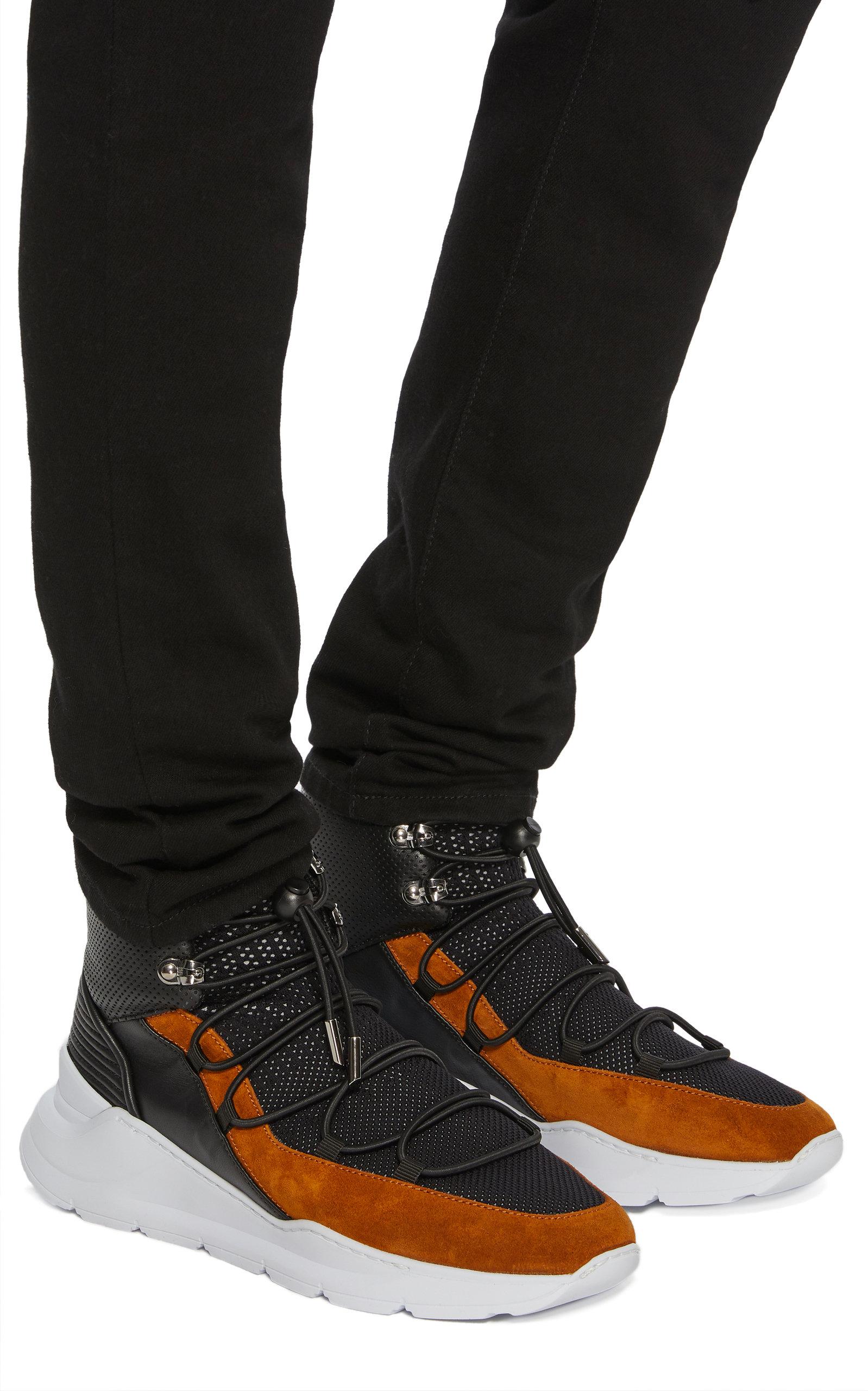 Balmain High By Leather Knit Moda Jasper Operandi Top And Sneakers 1xqtEw0Y