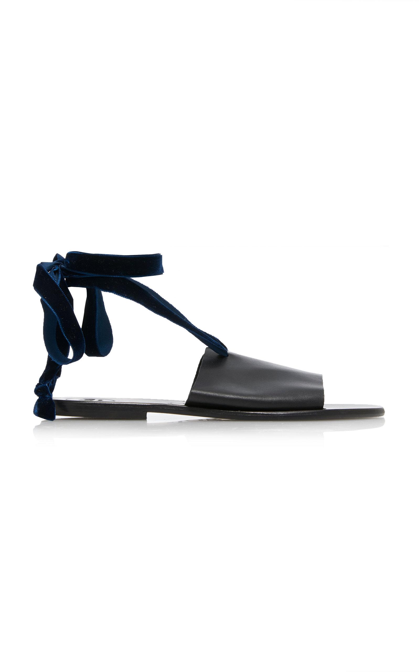 ALOHAS SANDALS Ava Night Sandal in Black