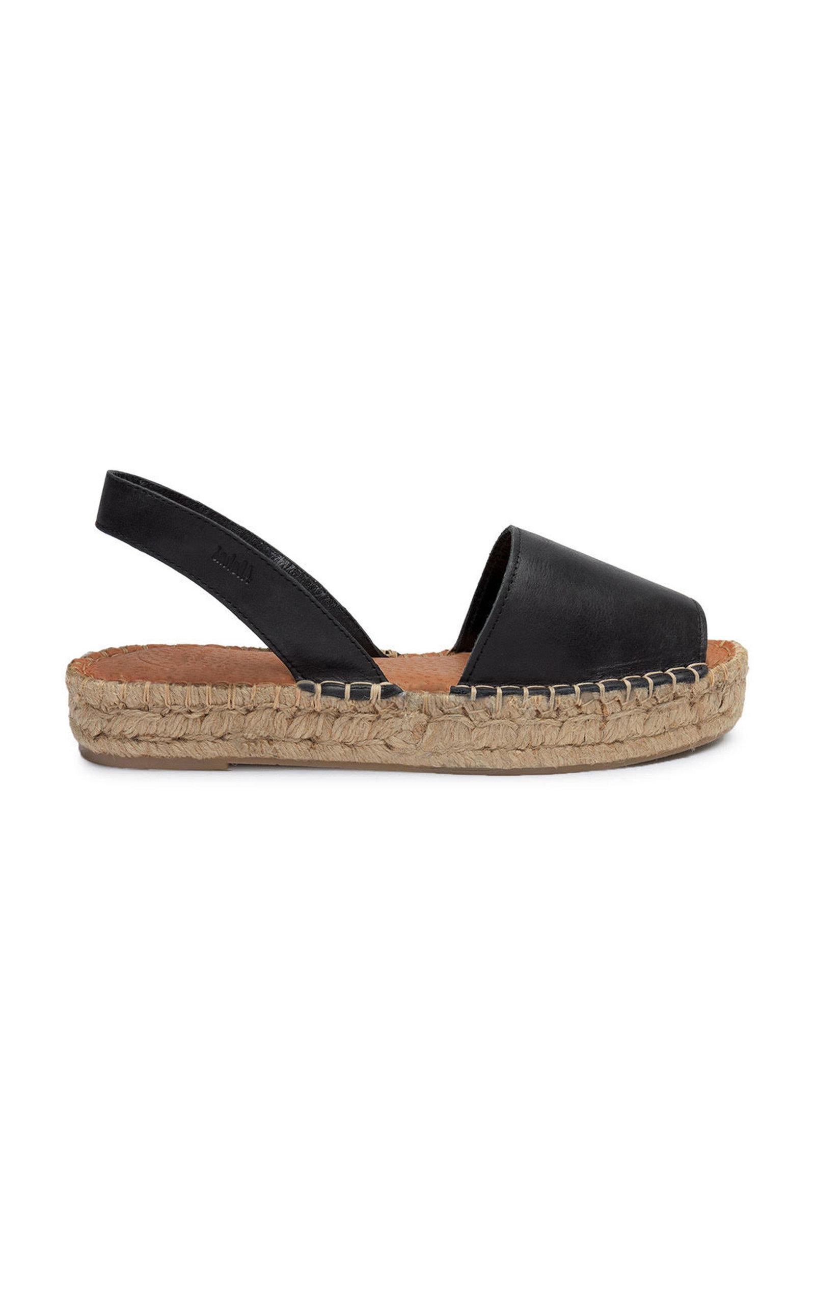 ALOHAS SANDALS Ibizas Platform Sandal in Black