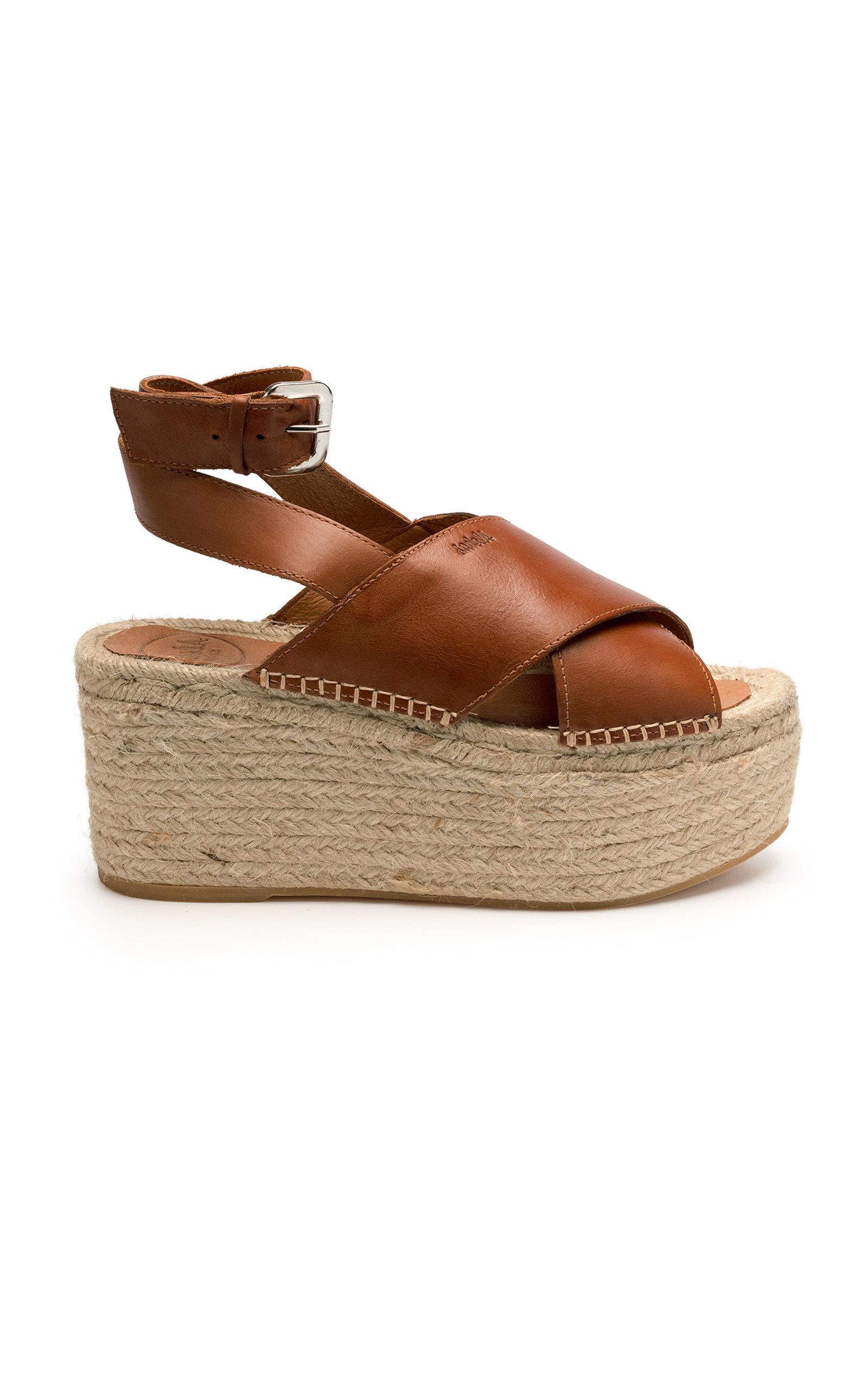 ALOHAS SANDALS Vegas Sandal in Brown