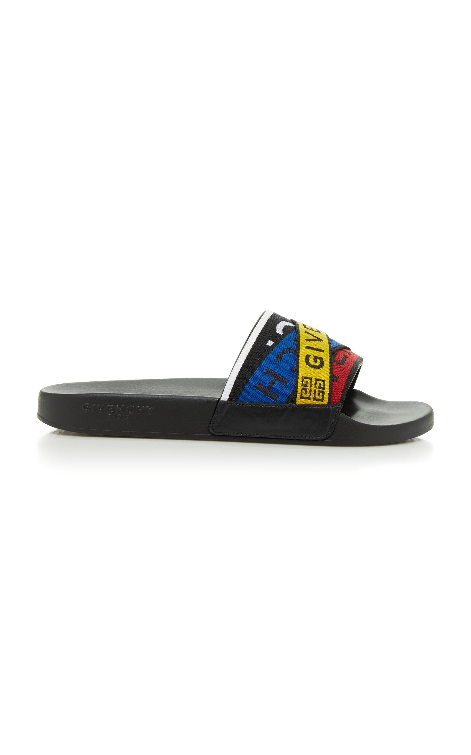 224852f4a07c GivenchyLogo Slide Flat Sandal. CLOSE. Loading