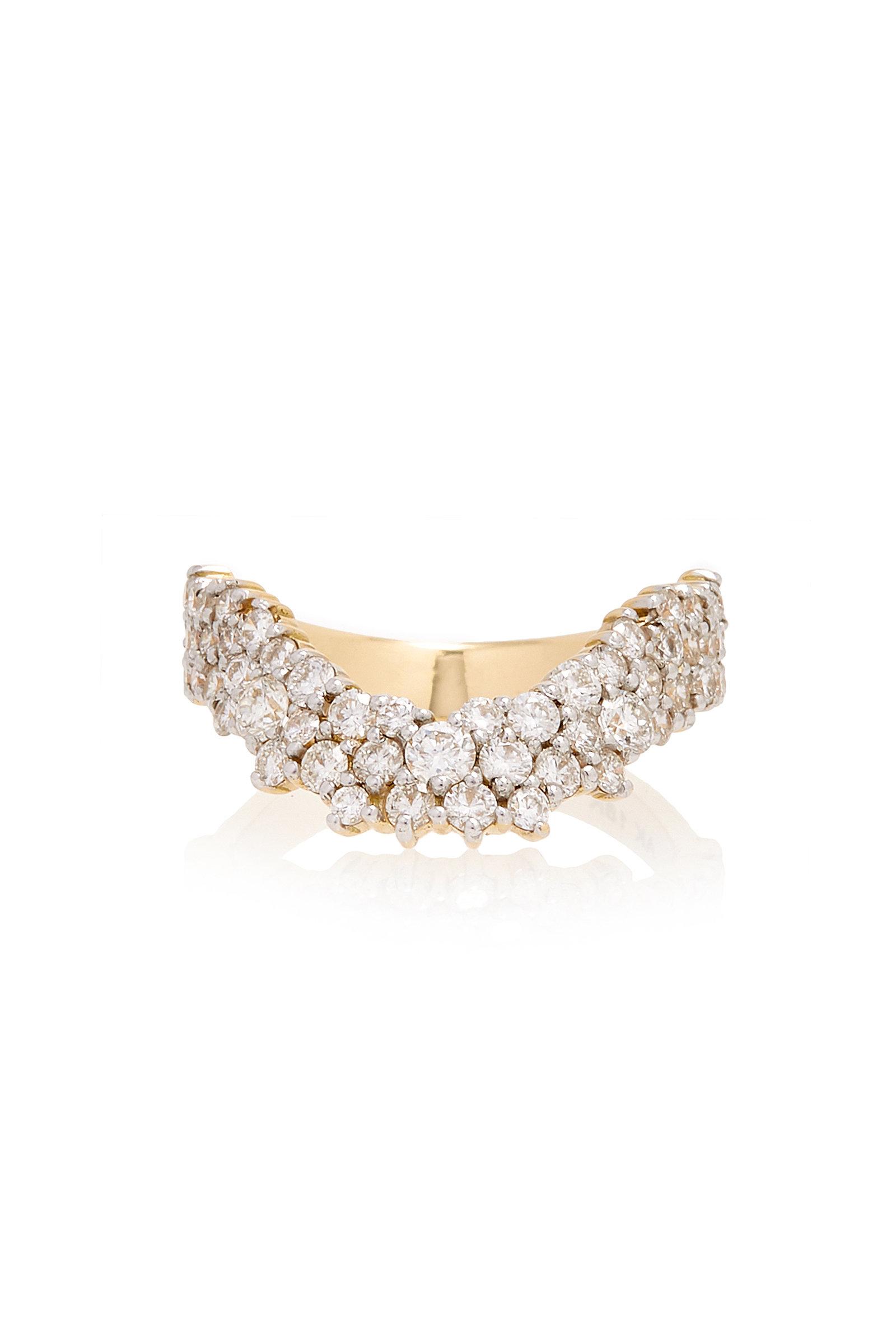 ANA KHOURI DIAMOND SIMPLICITY RING