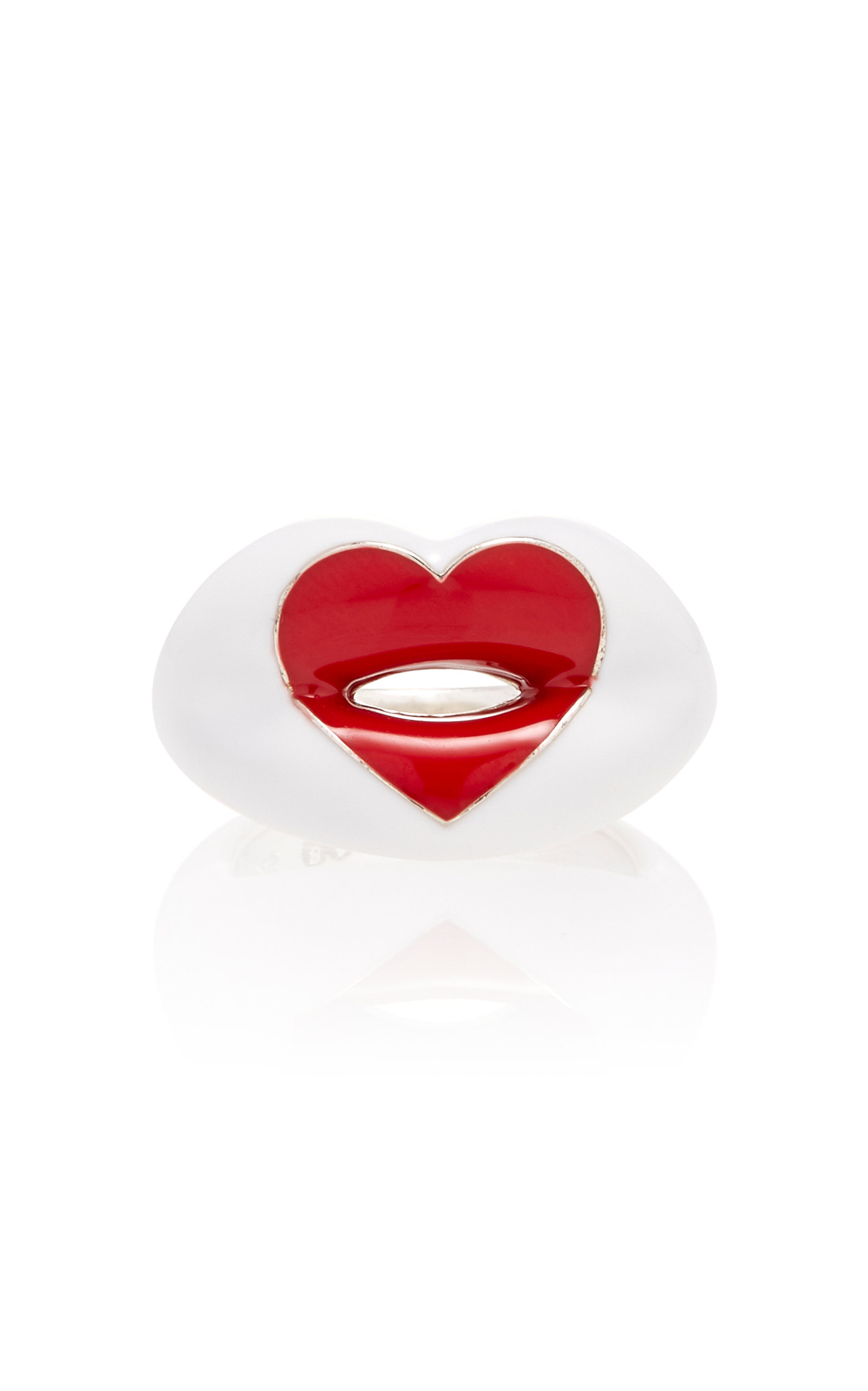 LOVE HEART HOTLIPS RING