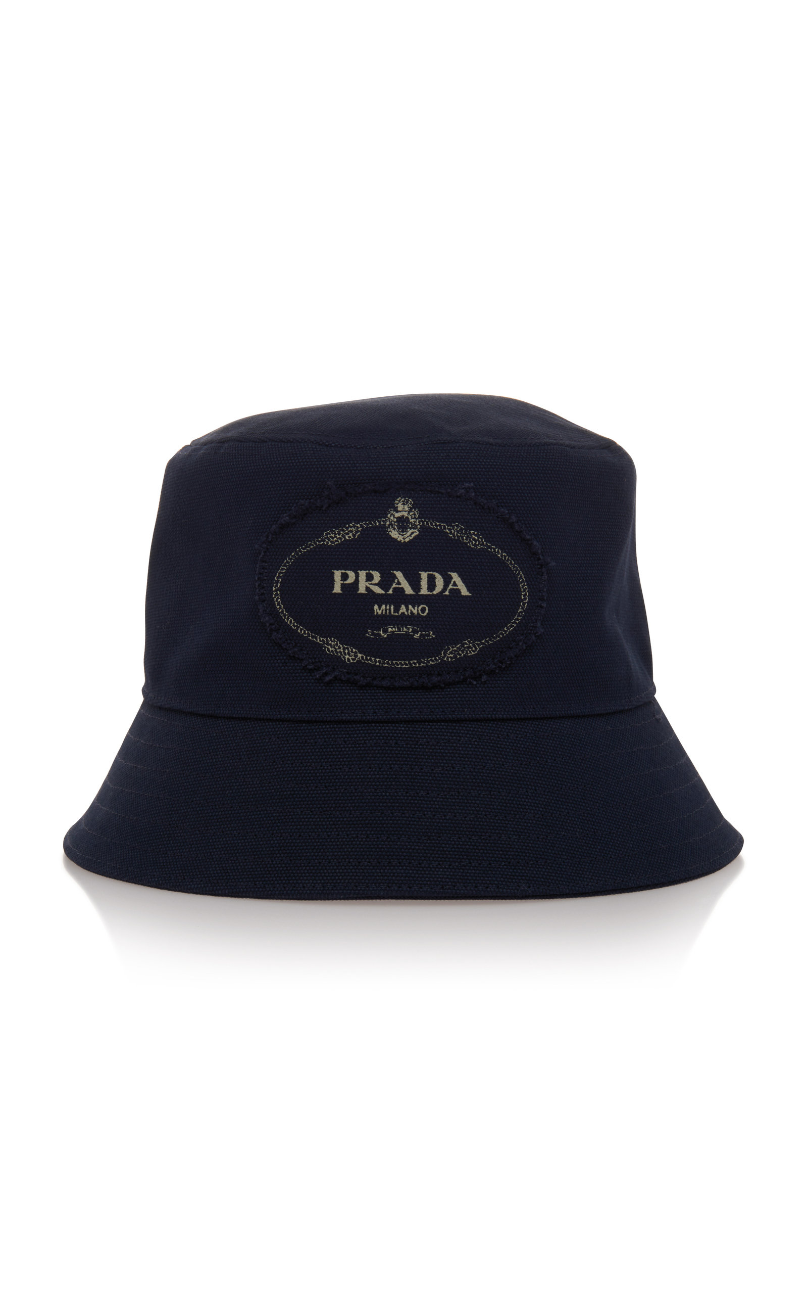 168c8bcc4a188 PradaSavoy Navy Canvas Bucket Hat. CLOSE. Loading