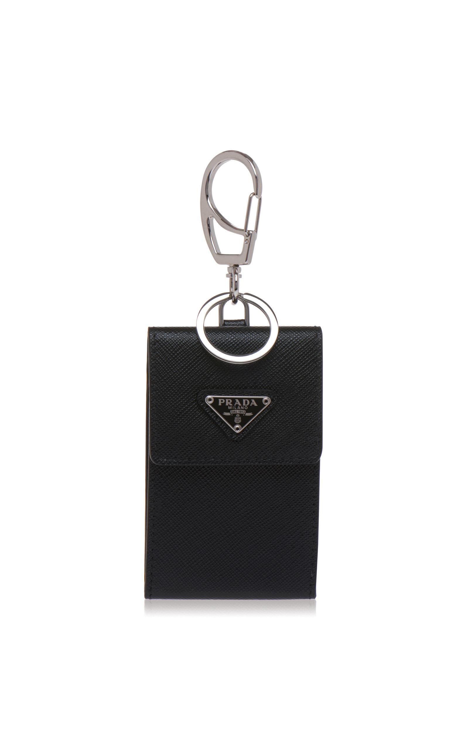 014be7cf08a Leather Pouch Keychain by Prada   Moda Operandi