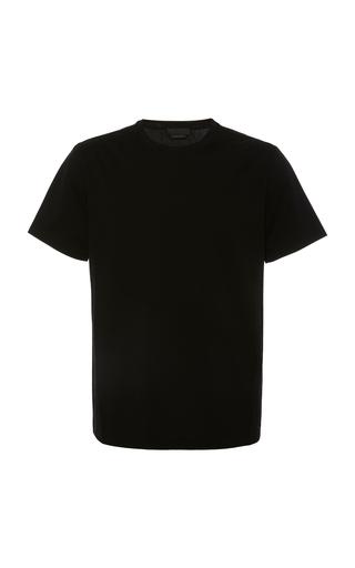 PRADA | Prada Cotton-Blend Crewneck T-Shirt | Goxip