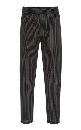 GIVENCHY | Givenchy Striped Cotton-Blend Trousers | Goxip