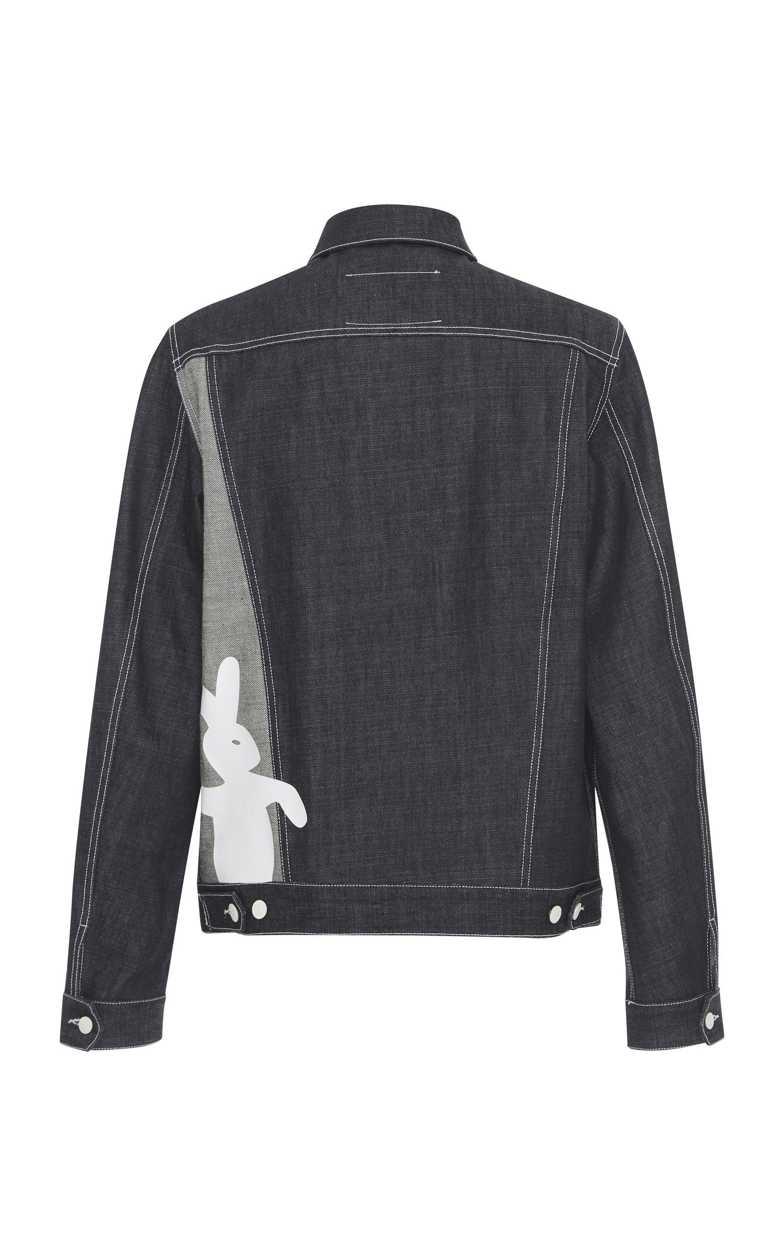 Printed Printed Jacket Unwashed Jacket Printed Unwashed Marni Marni Denim Denim wpr8wPqnR