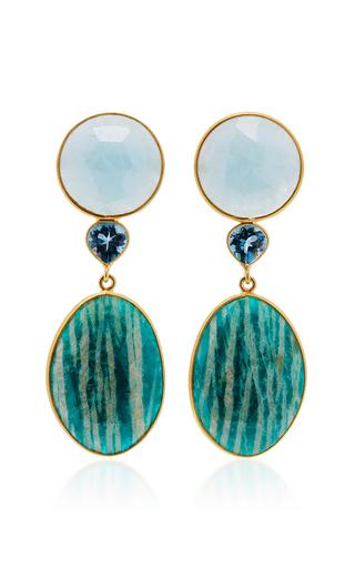 One-Of-A-Kind London Blue Topaz Earrings Bahina wbwyJr