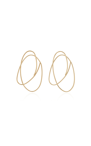 CAROLE LE BRIS PEREZ | Carole Le Bris Perez Scribble Earrings | Goxip