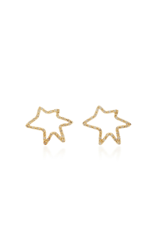 CAROLE LE BRIS PEREZ | Carole Le Bris Perez Roy Star Diamond Earrings | Goxip
