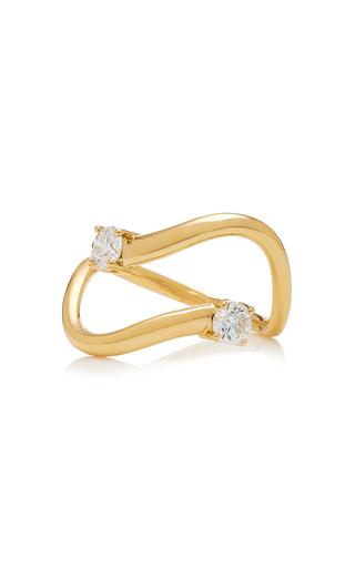 Melissa Kaye Aria Skye Gold Ring