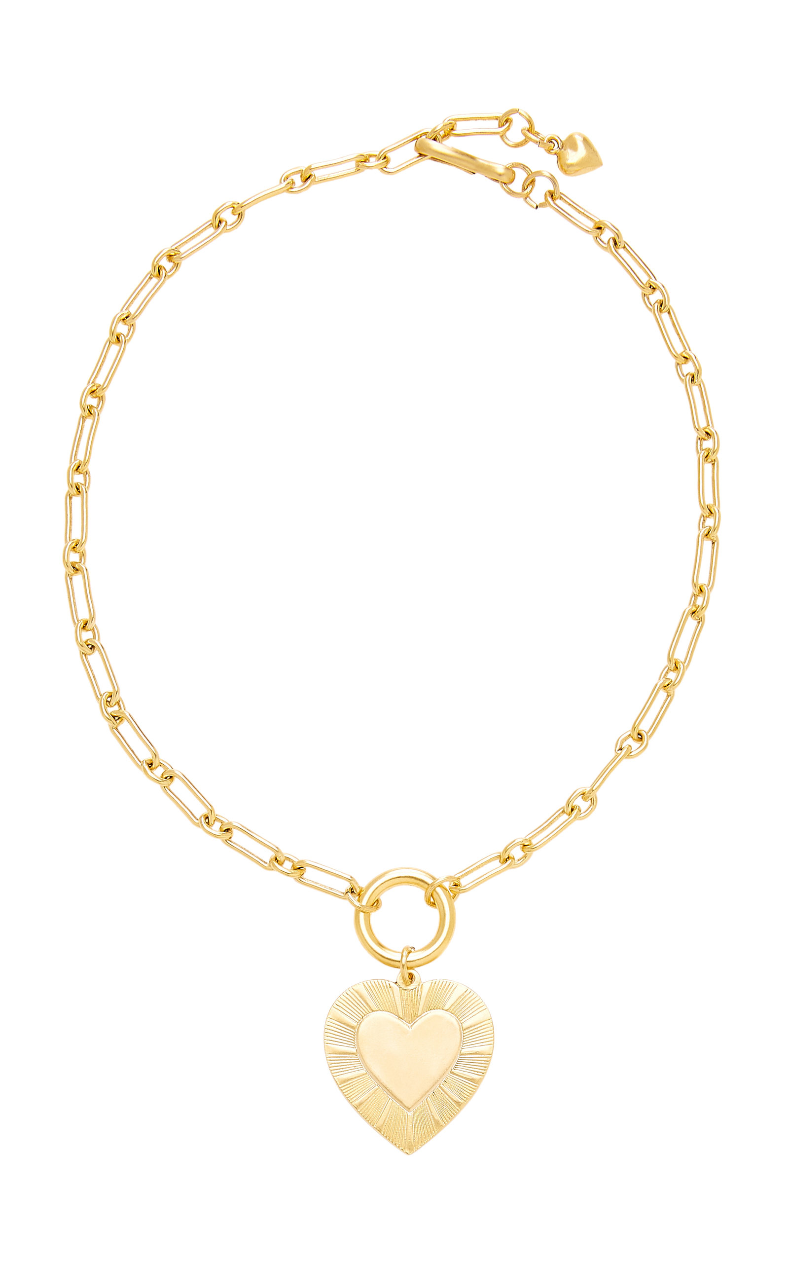 BRINKER & ELIZA THE BEST IS YET TO COME 24K GOLD-PLATED PENDANT NECKLACE