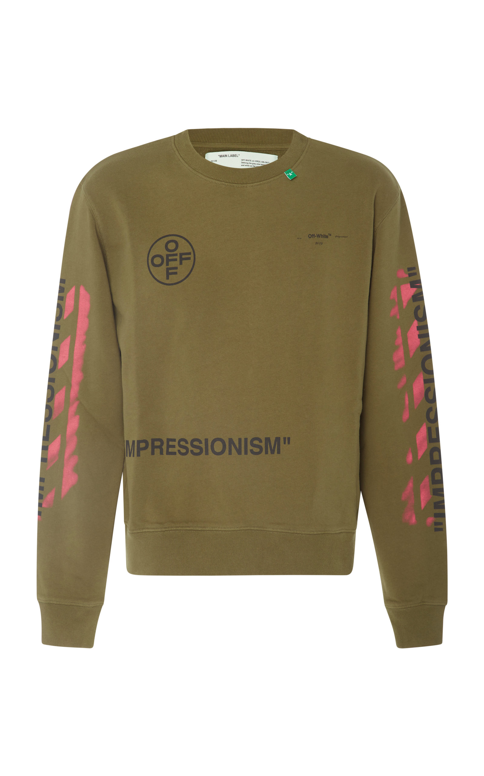 deede8c3ef0f Printed Long Sleeve T-Shirt by Off-White c o Virgil Abloh