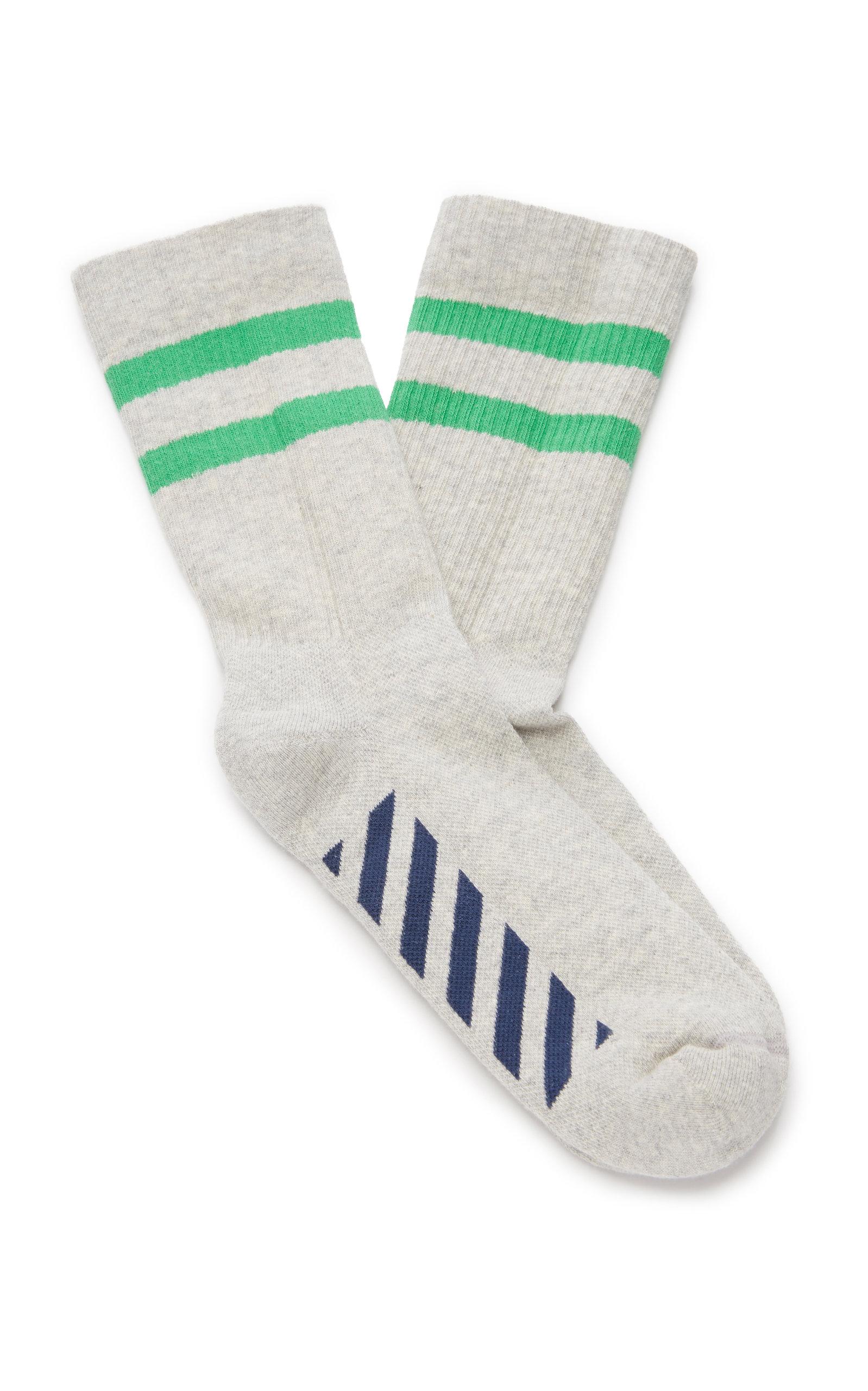 107edd16129c Striped Cotton-Blend Sport Socks by Off-White c o Virgil Abloh ...