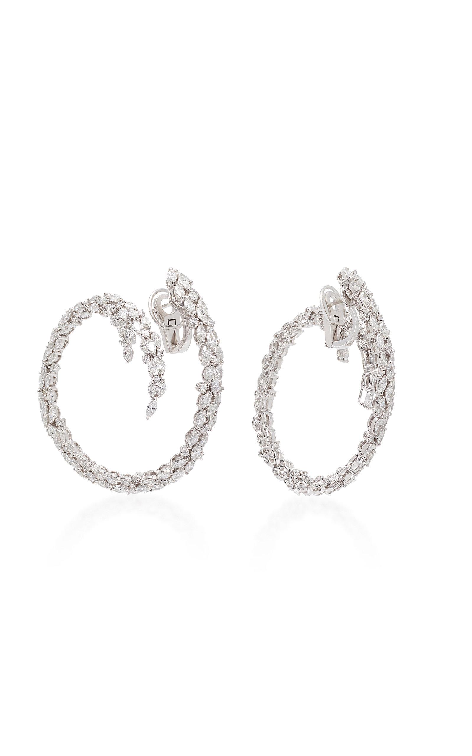 Yeprem Chevalier Hoop With Extension Earrings nPFUsD