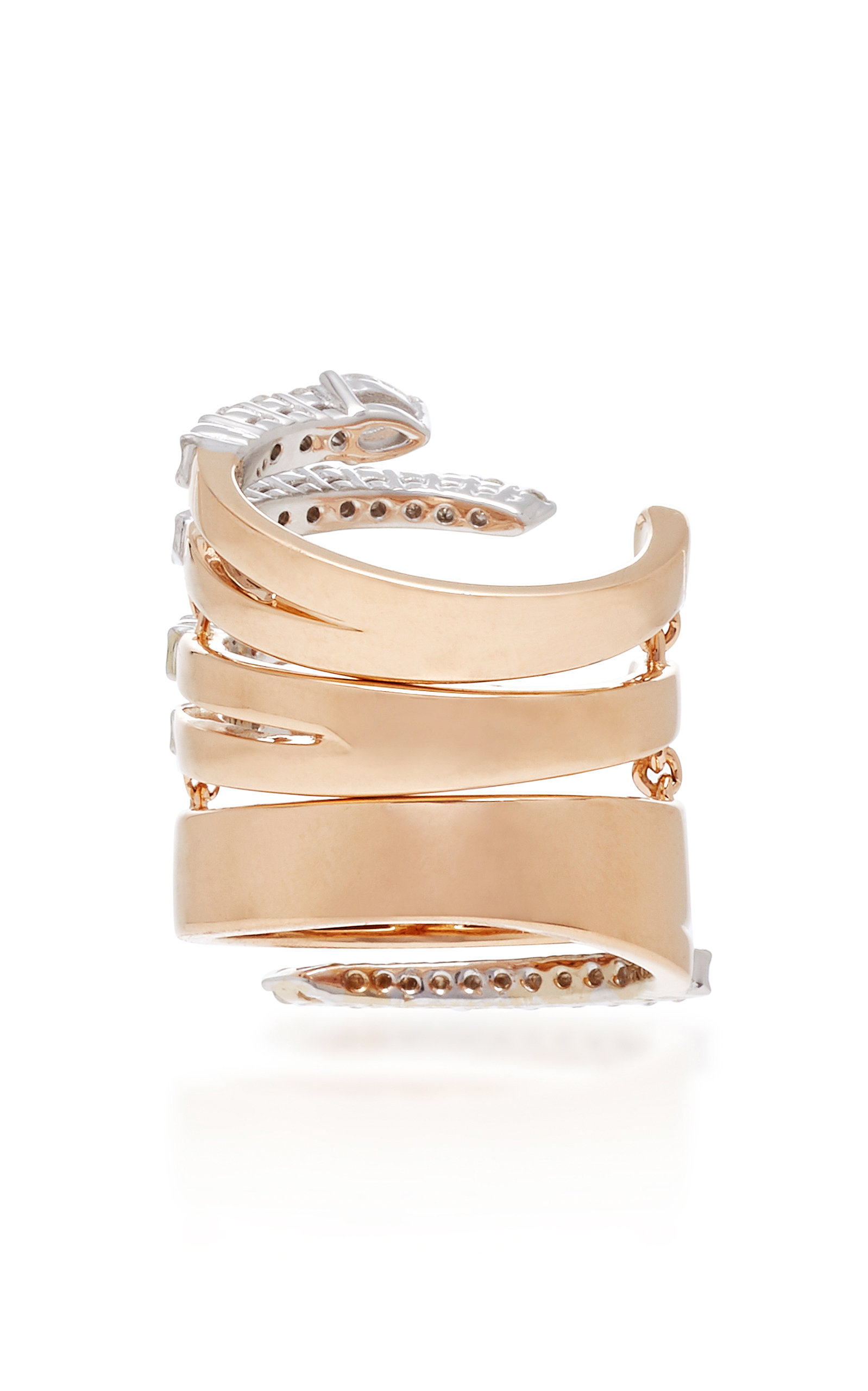 Yeprem Pink Starda Wrap Ring CJED0rfp