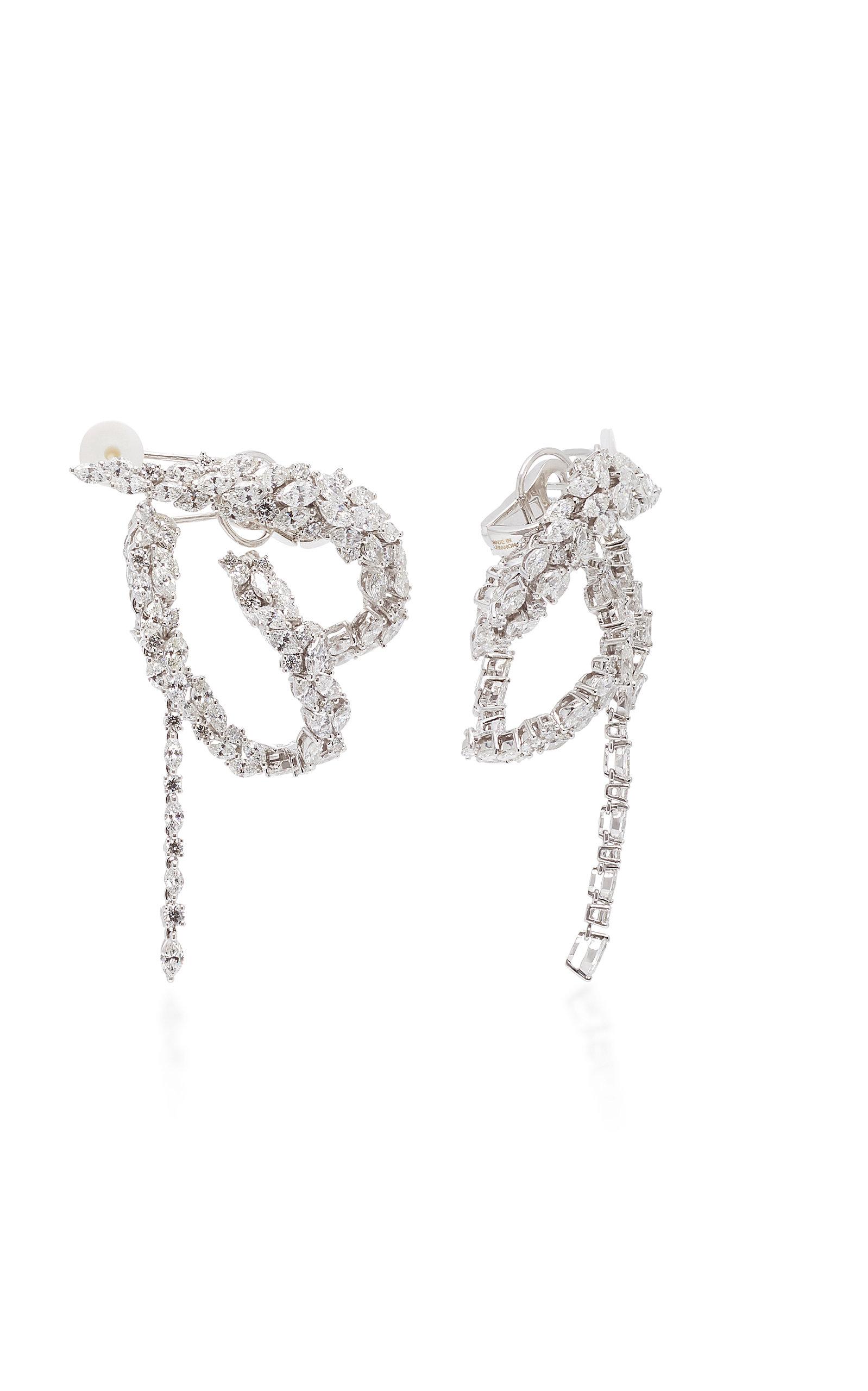 Boucles D'oreilles En Boucle Diamant Chevalier Yeprem MfCOpP