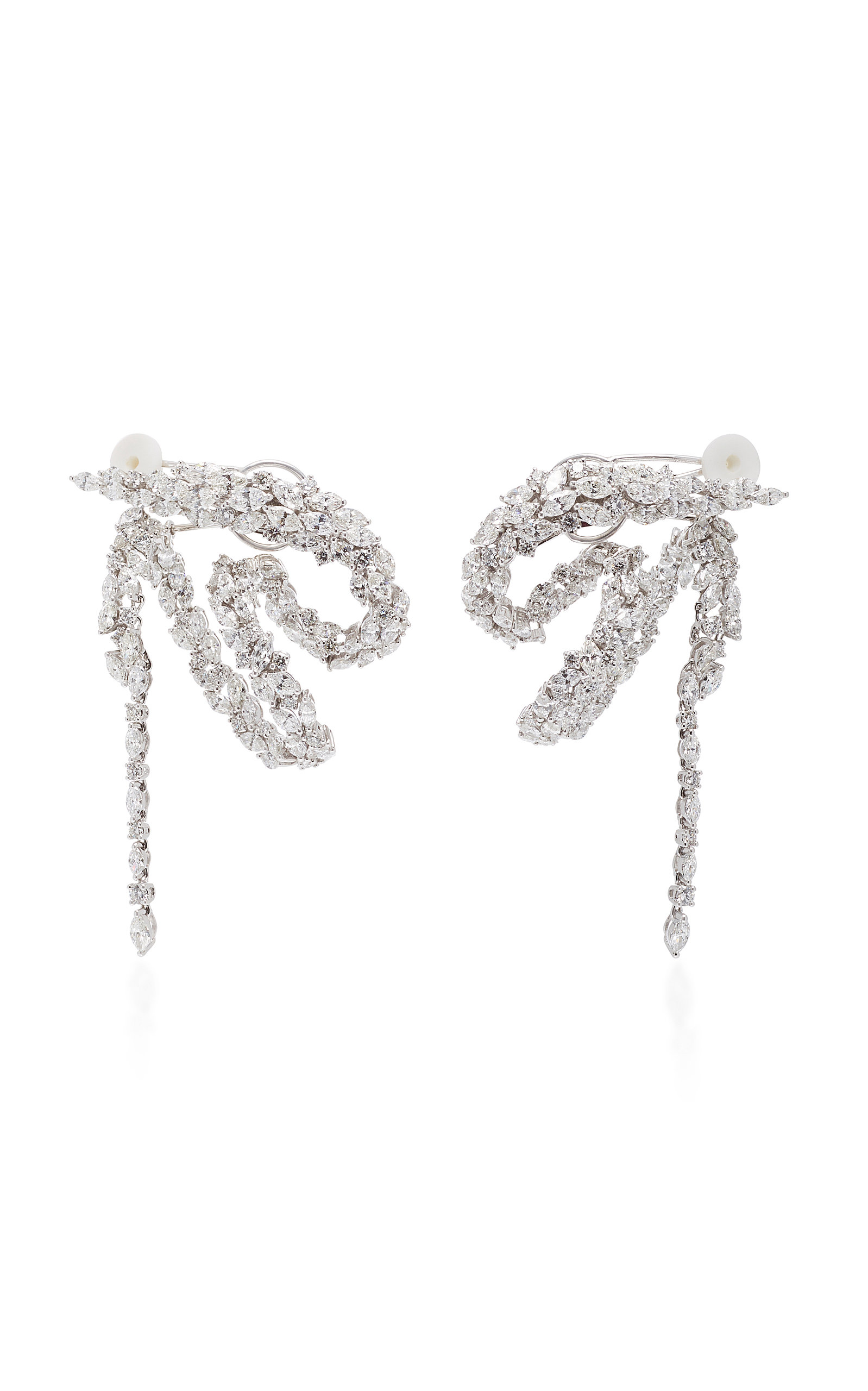 Yeprem Chevalier Waterfall Earrings 4Bf8s