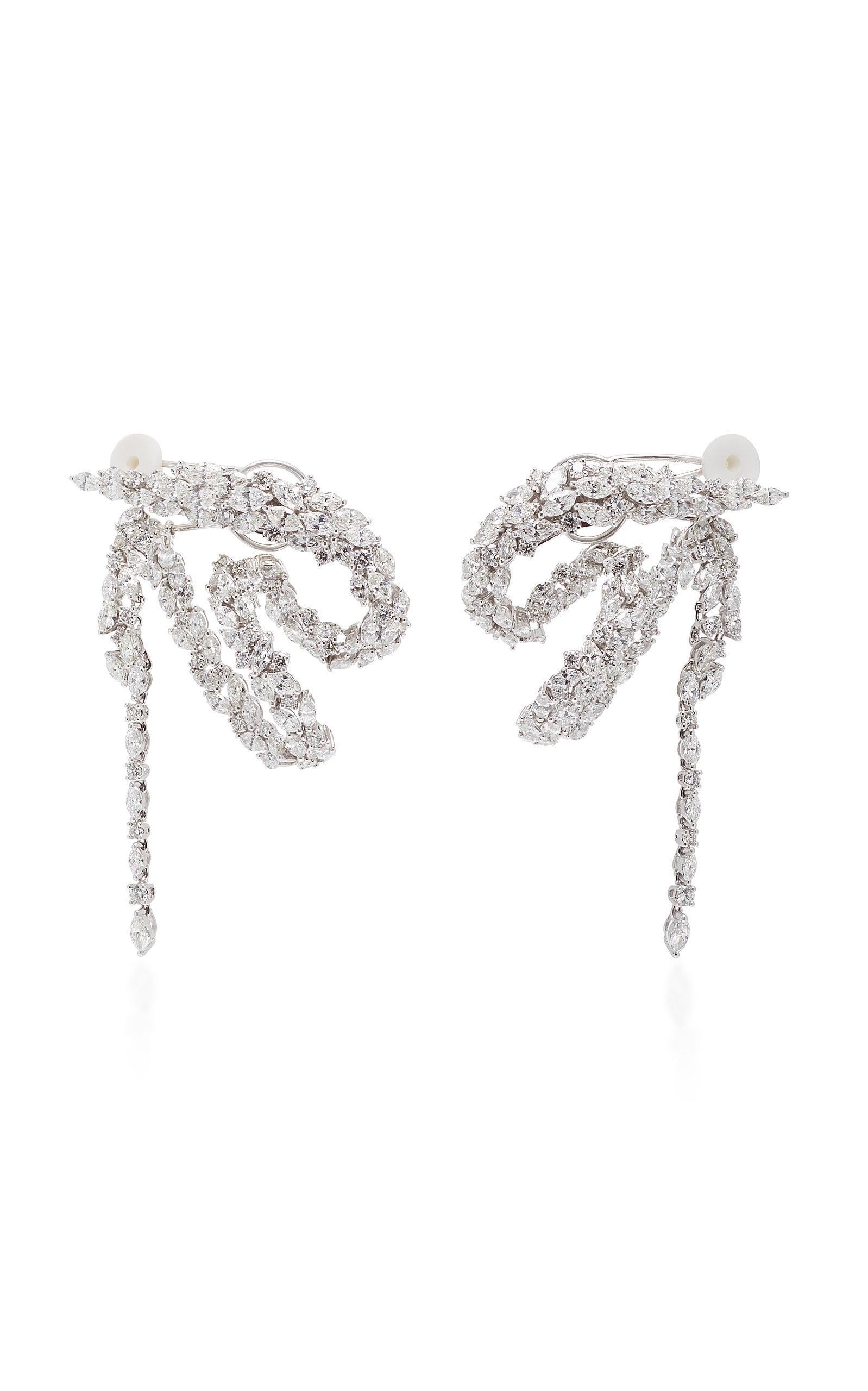 Yeprem Chevalier Waterfall Earrings 4Bf8s
