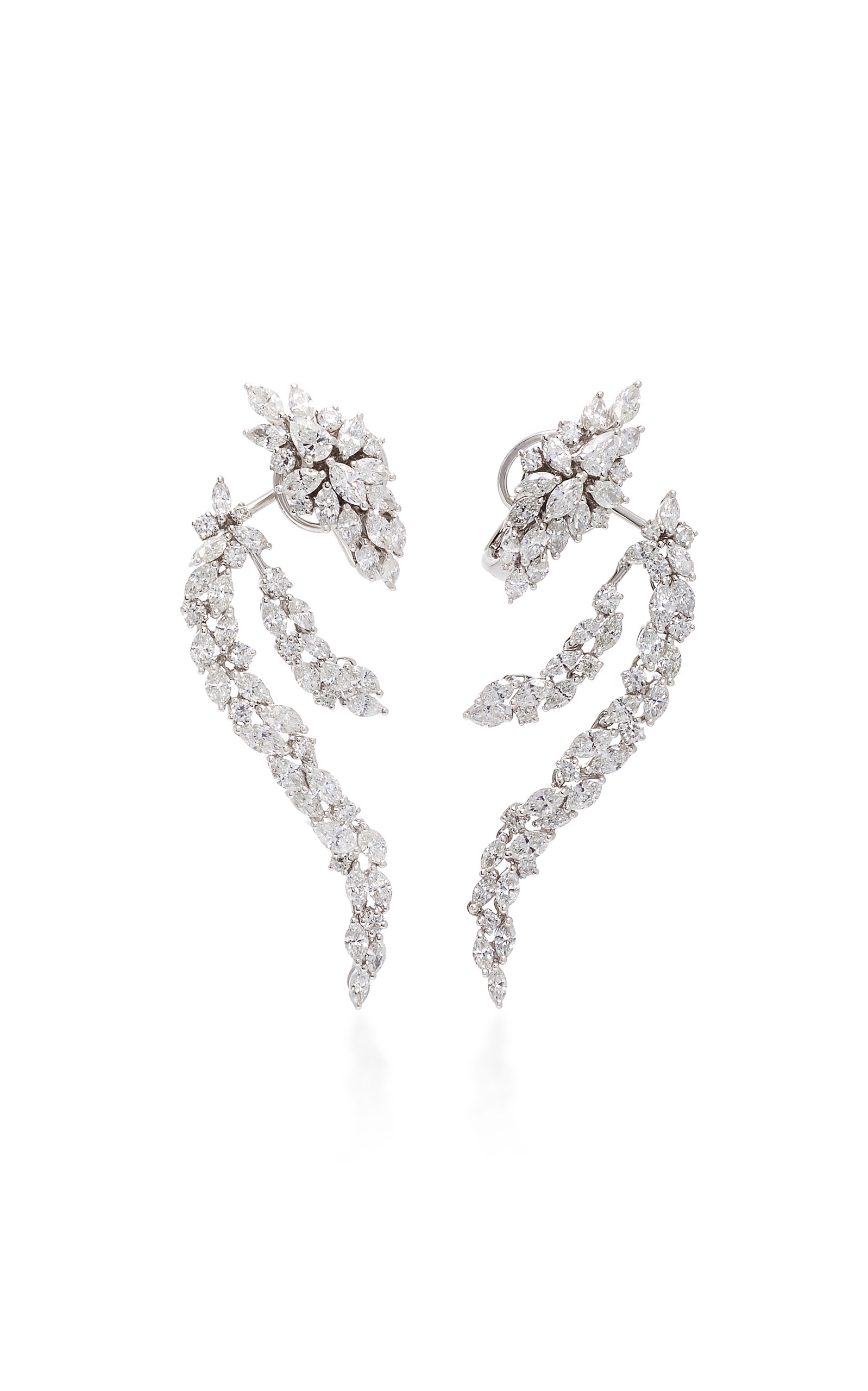 Chevalier Diamond Loop Earrings Yeprem SIAKpu