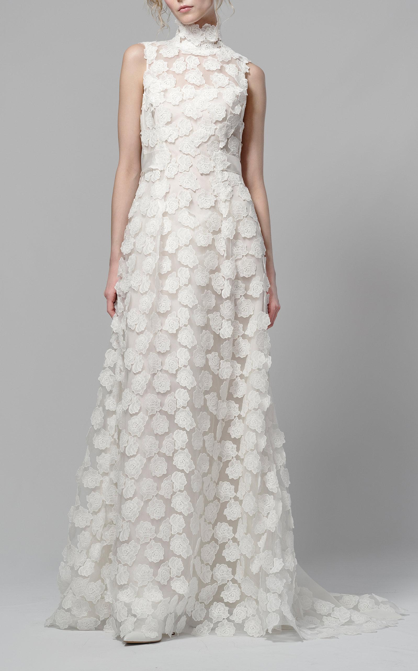 271084d1c12 Daphne Lace Blossom Gown by Elizabeth Fillmore