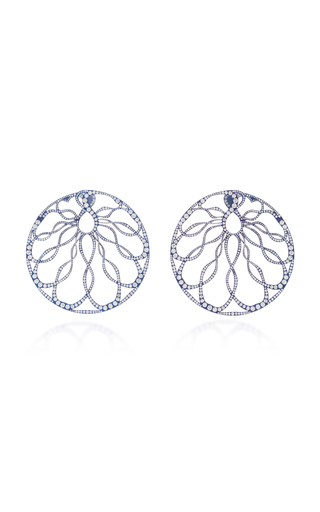 ARUNASHI | Arunashi One-Of-A-Kind Diamond Hoop Earrings | Goxip