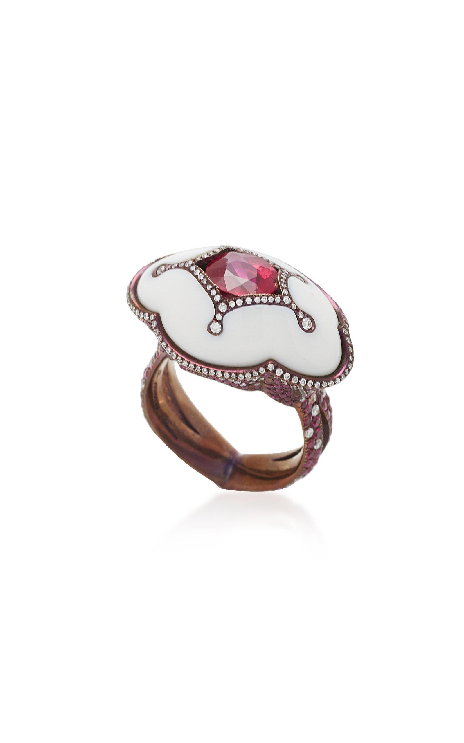 ARUNASHI ONE-OF-A-KIND RUBY RING