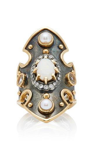ELIE TOP   Elie Top Bouclier Opal Ring   Goxip