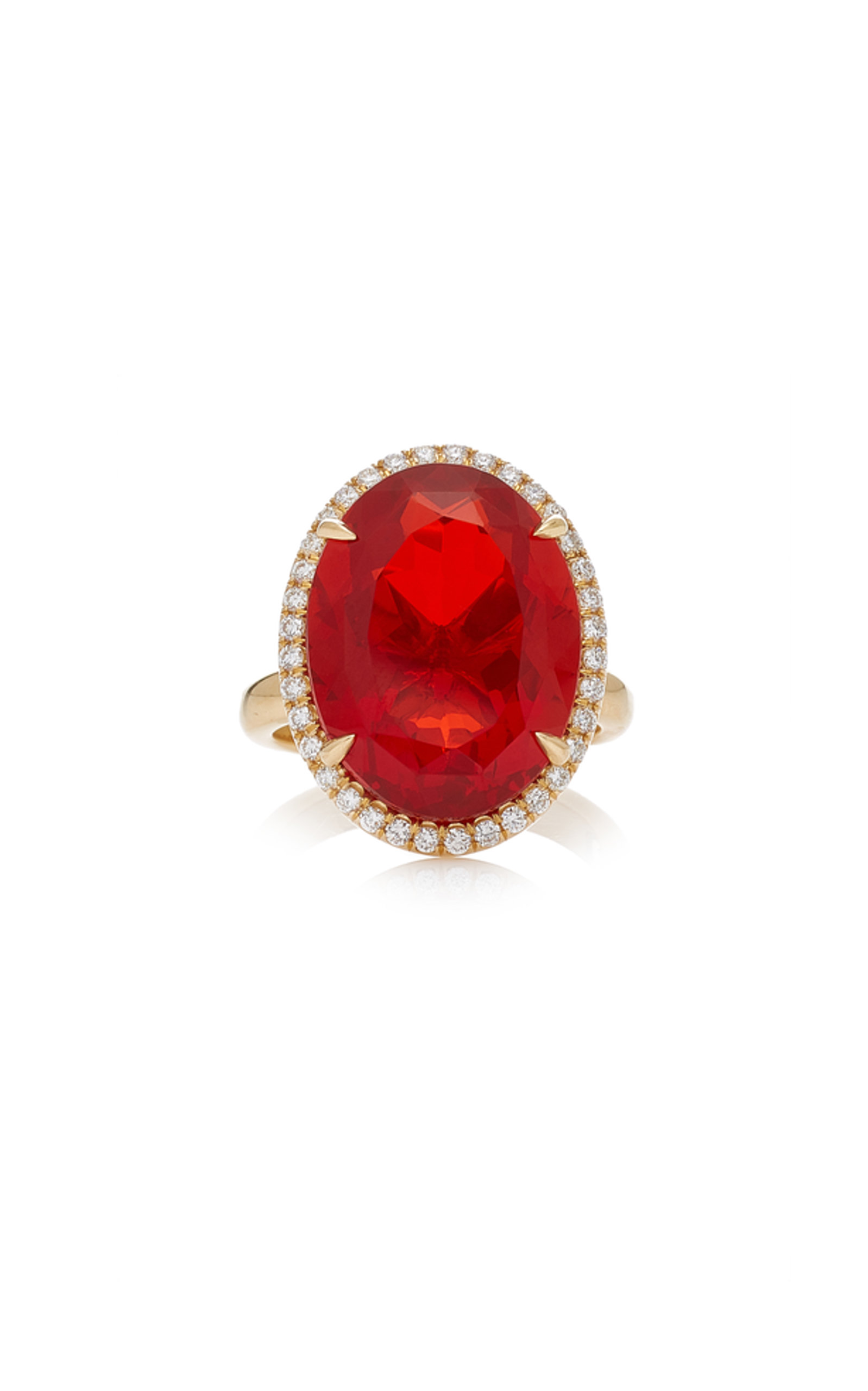 KATHERINE JETTER ONE-OF-A-KIND FIRE OPAL RING