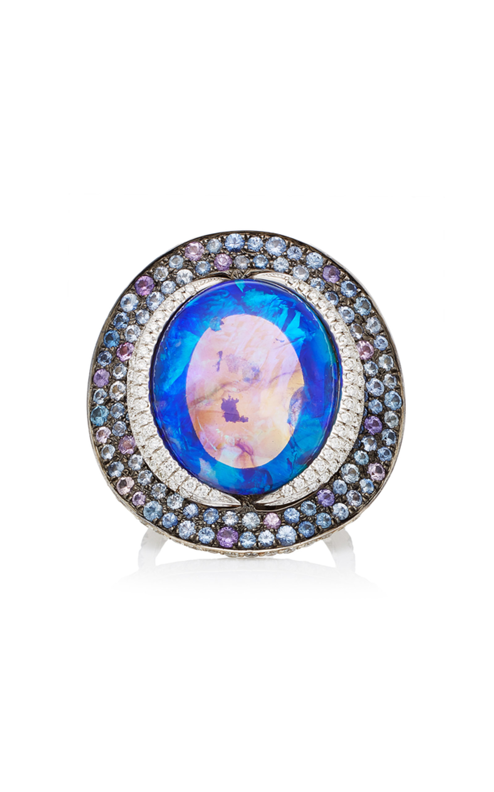 One-Of-A-Kind Black Opal Ring Katherine Jetter X3cpsLihLx