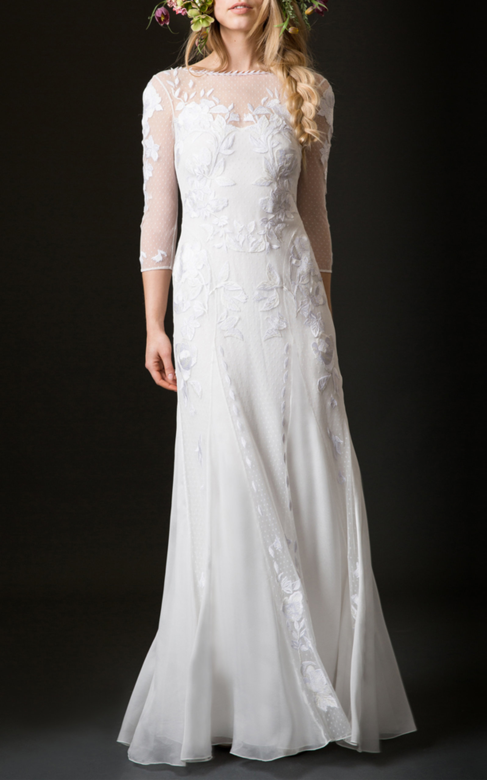 TEMPERLEY LONDON BRIDAL AUBREY SHEATH DRESS