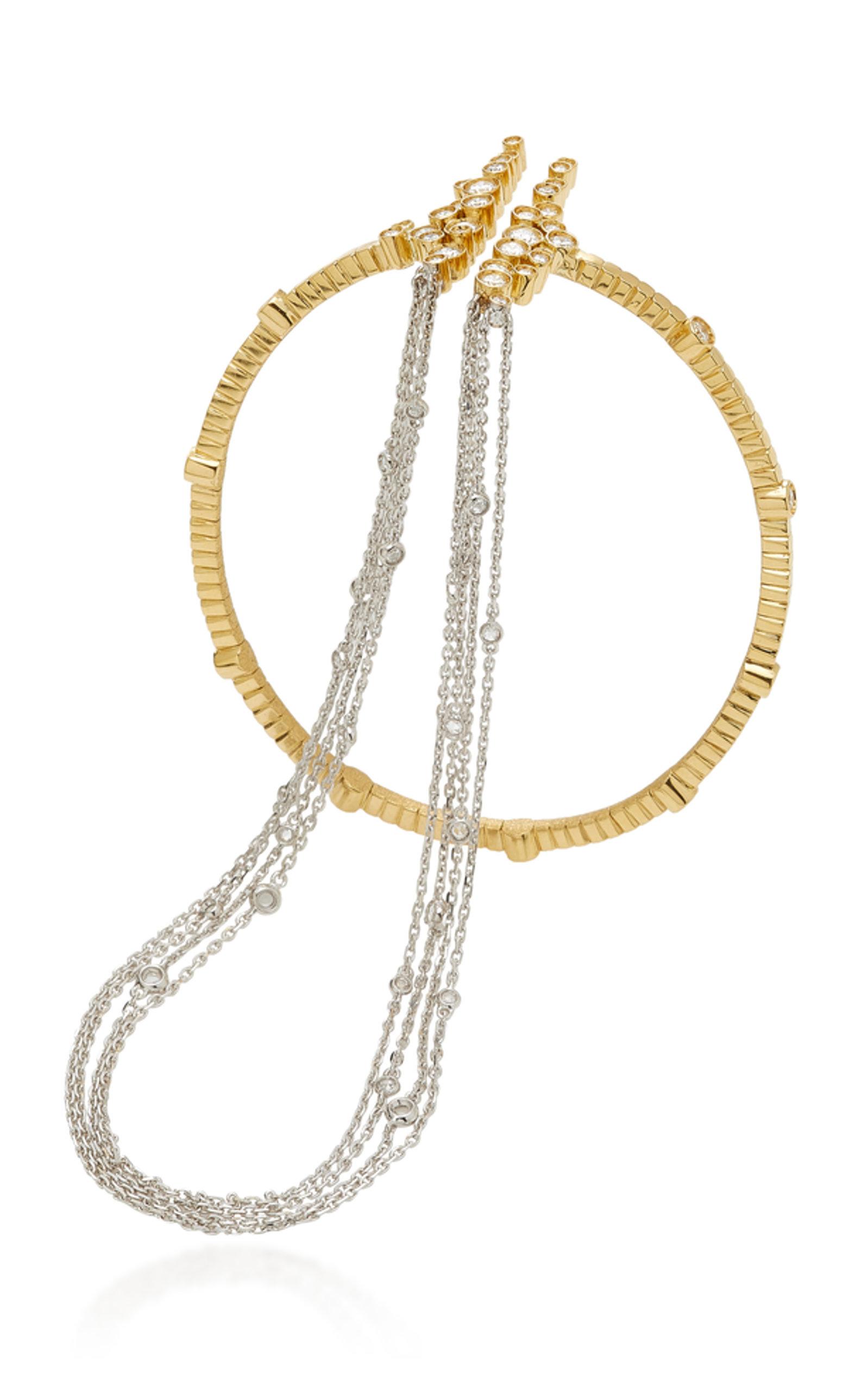 Amante Fringe Ring Bracelet Mike Joseph azWio8