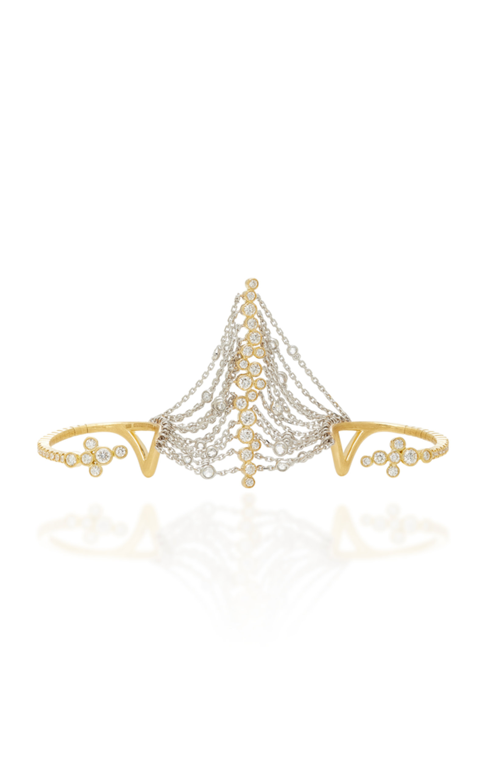 AMANTE DOUBLE BAND RING