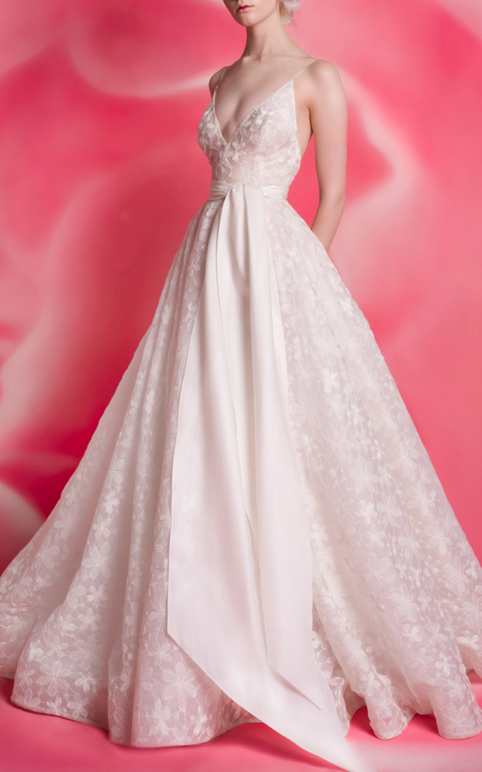 Taylor Plunge Ballgown by Isabelle Armstrong | Moda Operandi