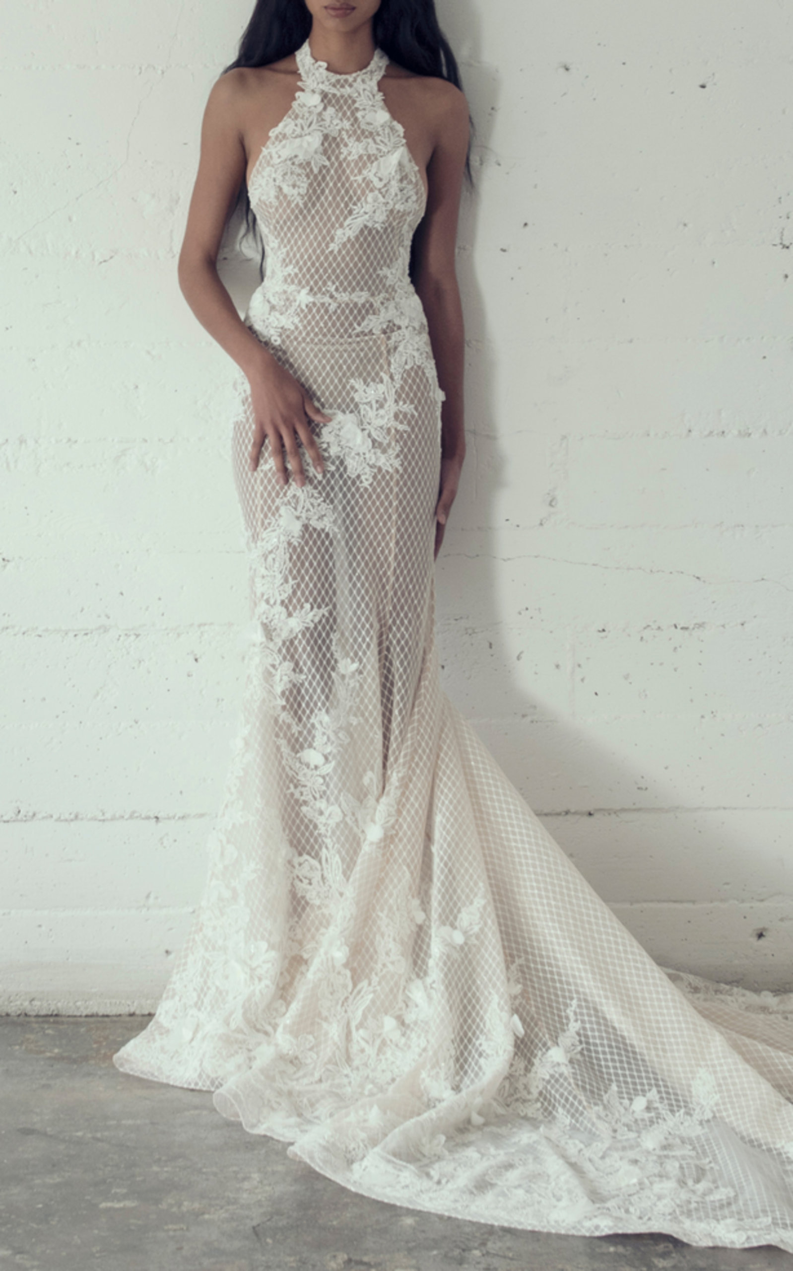 ADAM ZOHAR ABBEY MERMAID GOWN
