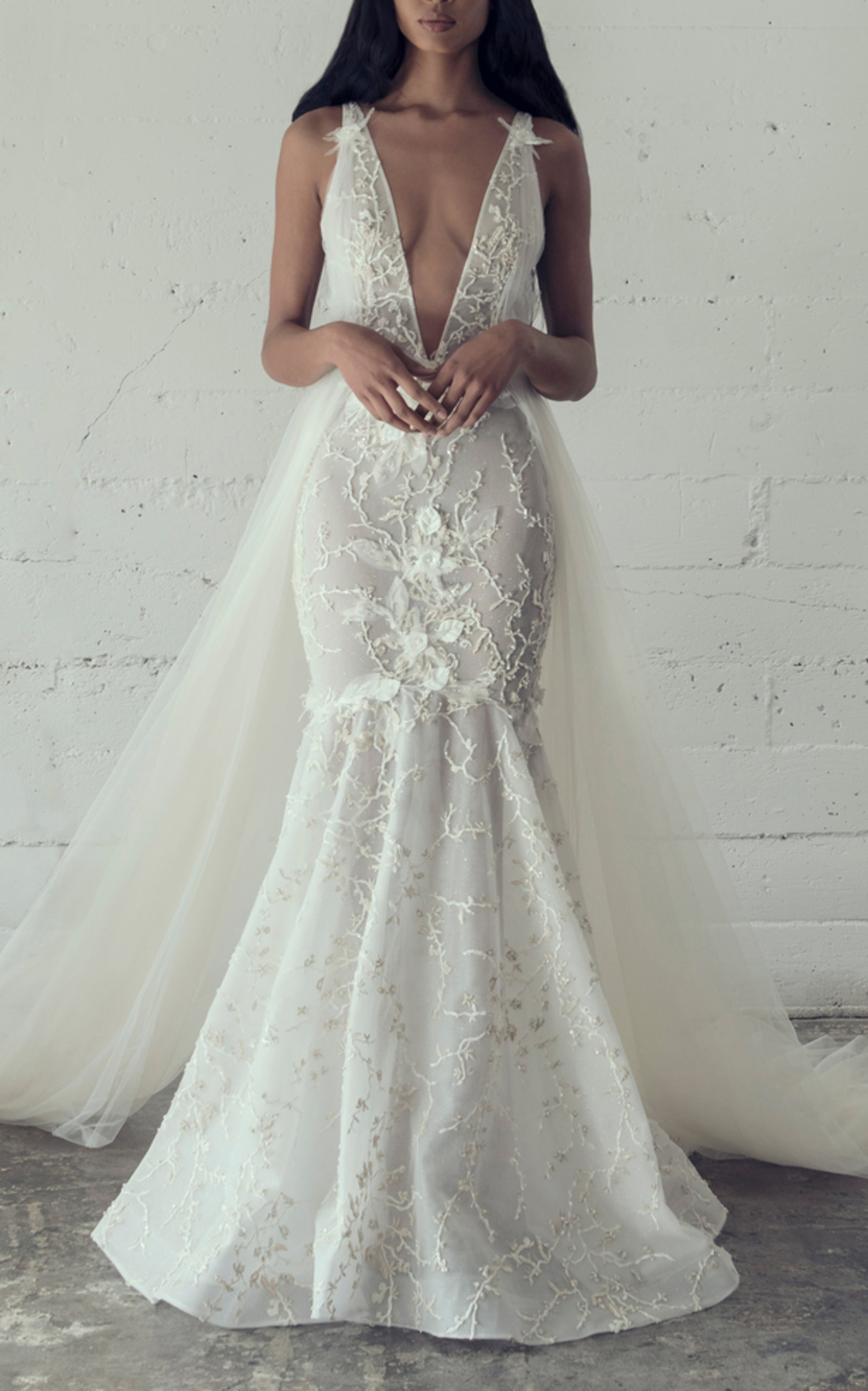 ADAM ZOHAR CRISTA MERMAID GOWN