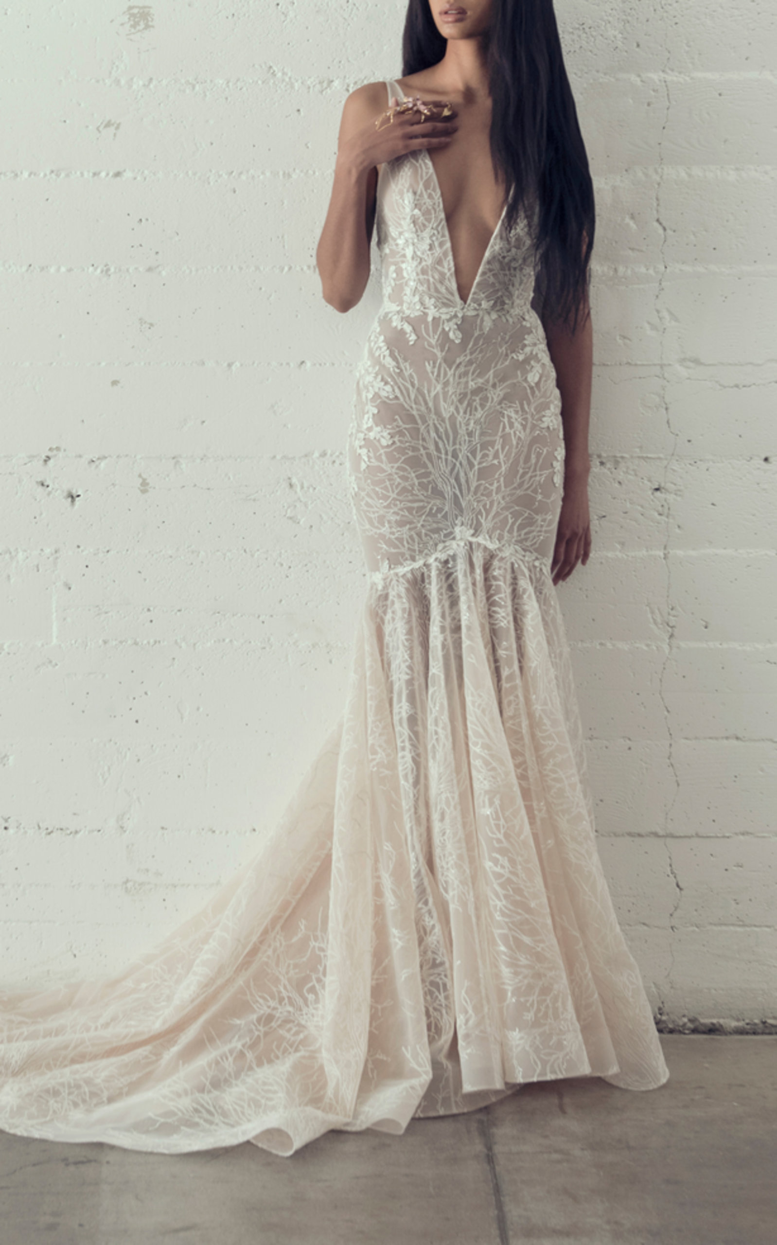 ADAM ZOHAR GRACE MERMAID GOWN