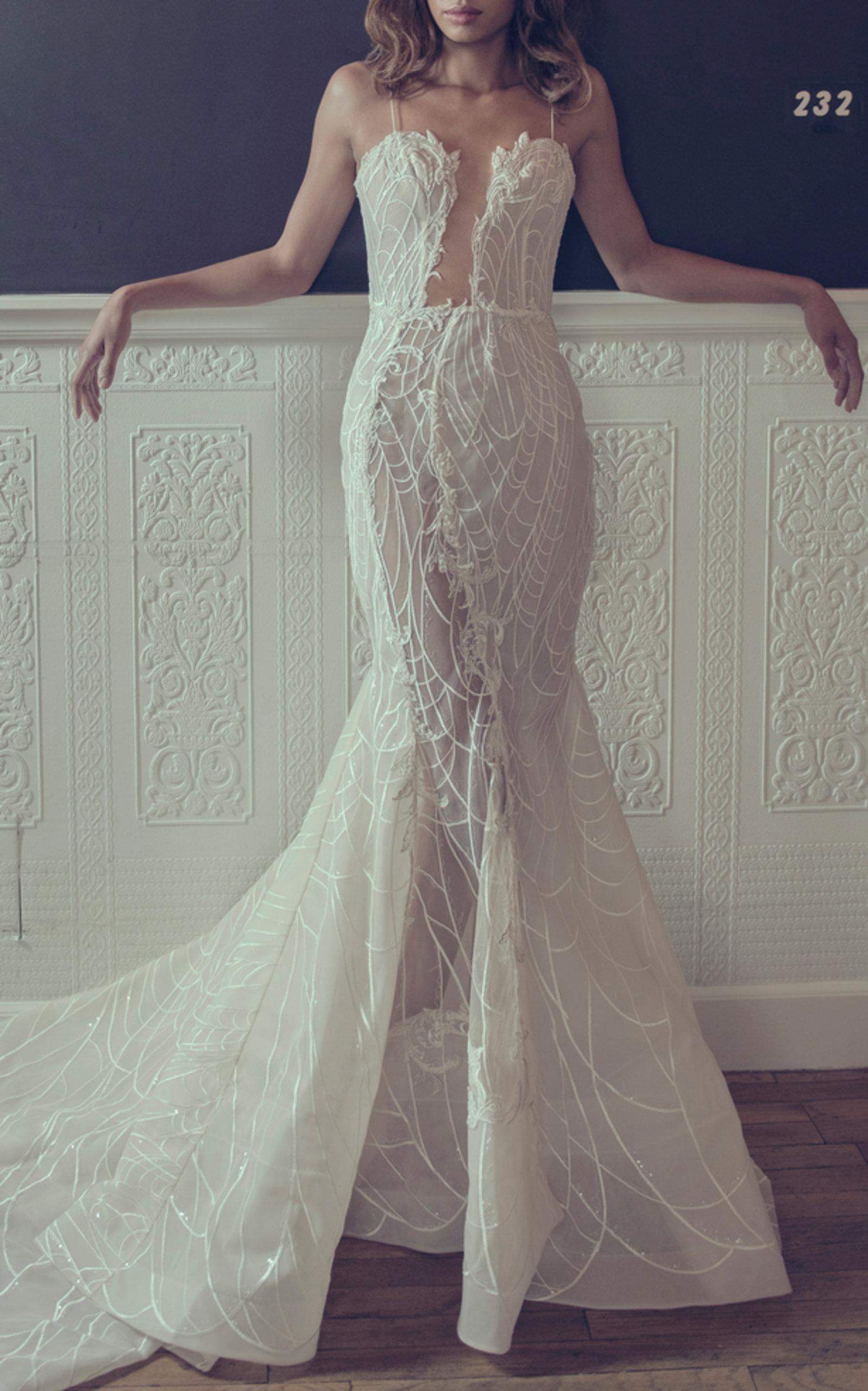 ADAM ZOHAR SCARLETT MERMAID GOWN