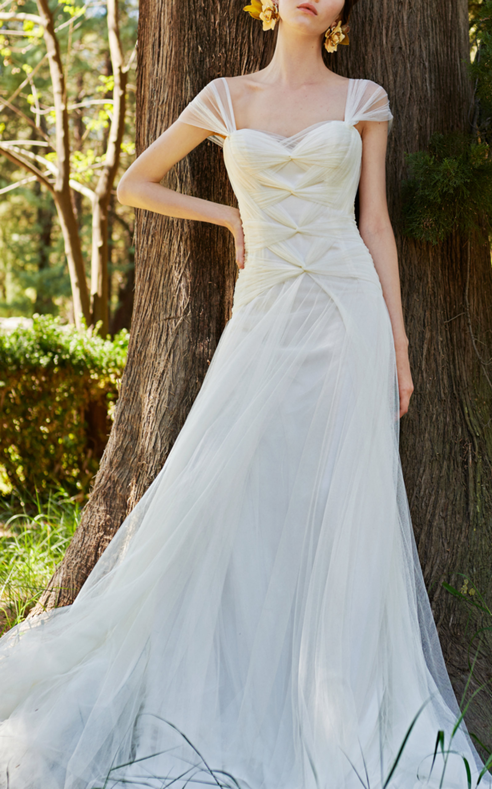 COSTARELLOS BRIDAL ETHEREAL SWEETHEART GOWN