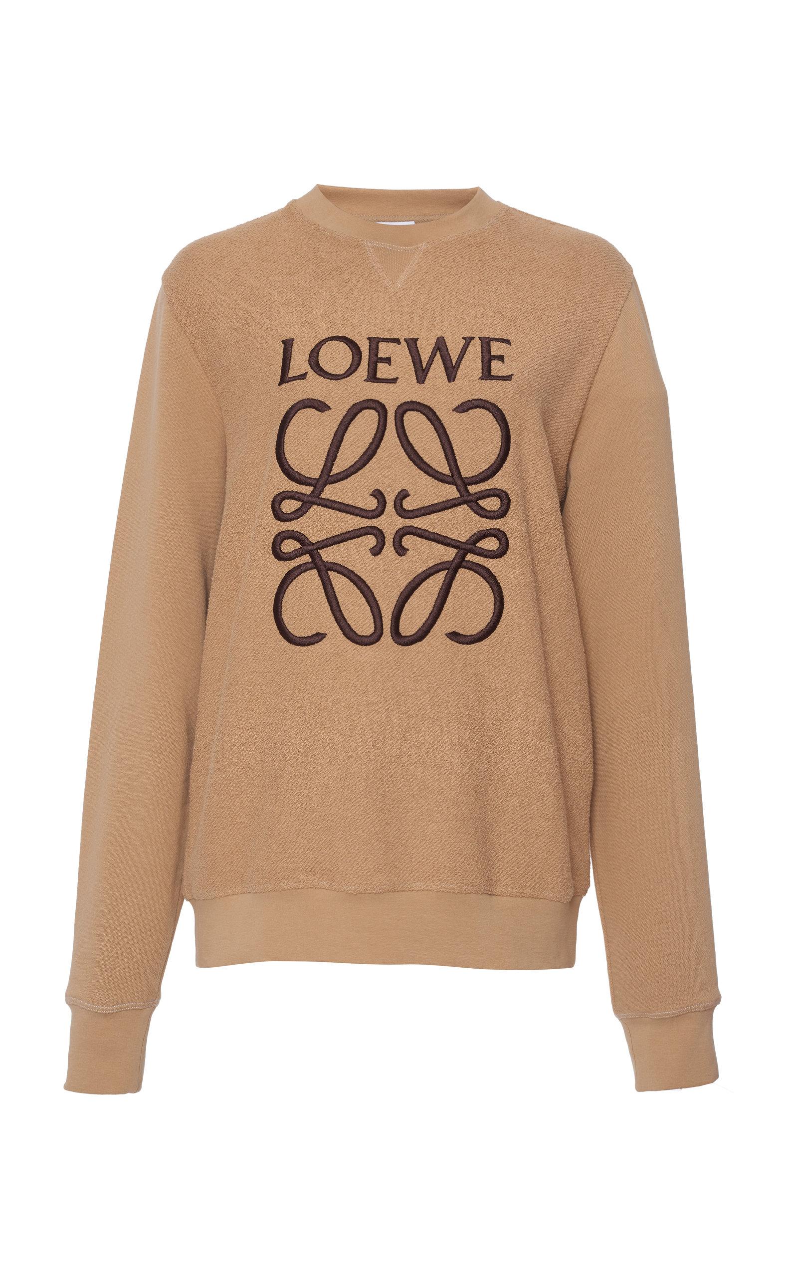 a5fd50018b9 Logo-Printed Cotton-Jersey Sweatshirt by Loewe | Moda Operandi
