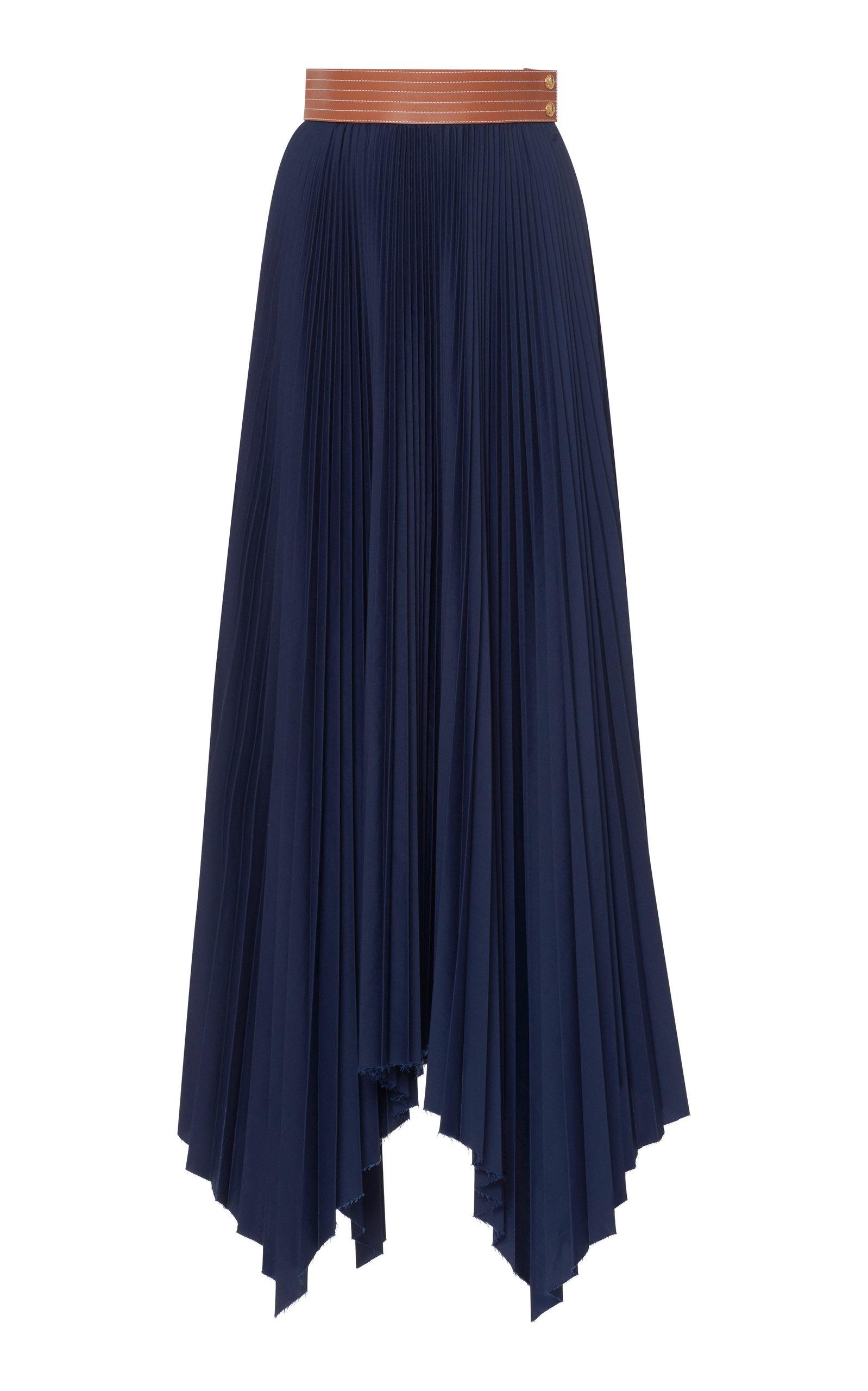 e9cfd301429 Pleated Asymmetric Skirt by Loewe | Moda Operandi