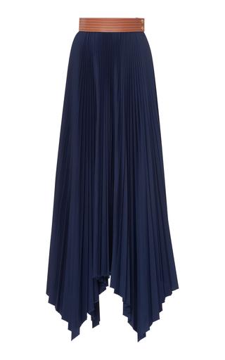 LOEWE | Loewe Pleated Asymmetric Skirt | Goxip