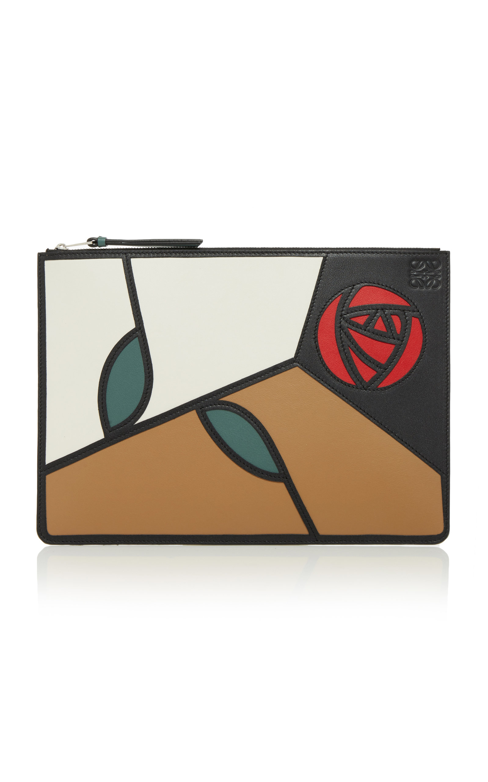 LOEWE MEDIUM PRINTED LEATHER POUCH