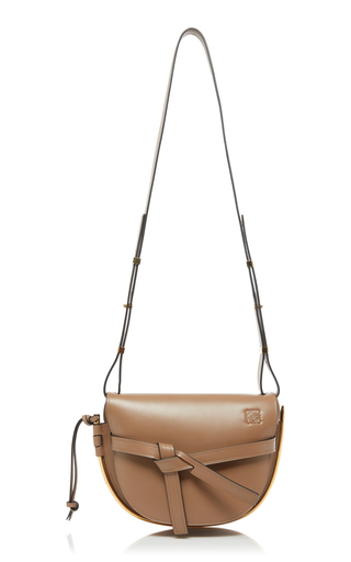560fd8012acb0 Gate Small Metal And Leather Shoulder Bag.  2
