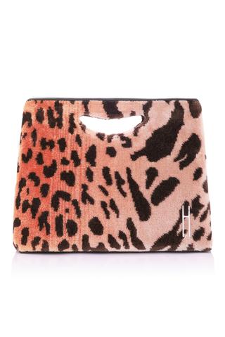 HAYWARD | Hayward 1712 Leopard-Print Basket Bag | Goxip